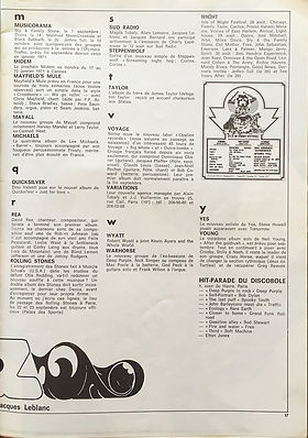 jimi hendrix magazines 1970 / best sept.70