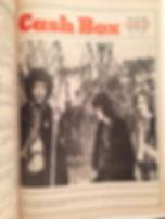 jimi hendrix rotily newspapers/ cash box 1/7/67