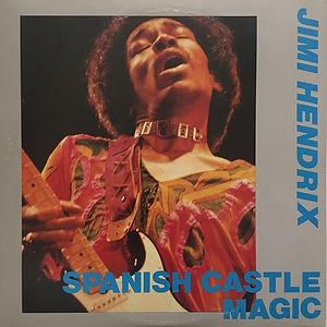 jimi hendrix bootlegs vinyl album/ spanish castle magic 2 lp