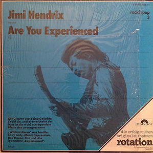 jimi hendrix collector rotily vinyls /are you experienced germany 1975