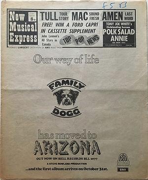 jimi henrix newspaper 1969/new musical express october 11 1969