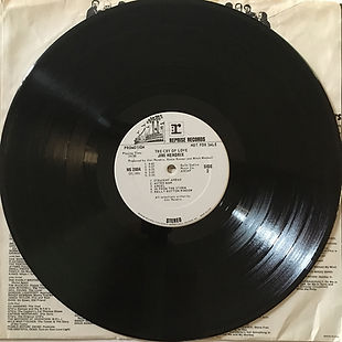 jimi hendrix vinyls lps/cry of love side 2/promo usa 1970