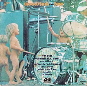 jimi hendrix vinyl lp album/woodstock two /  yougoslavia  1979