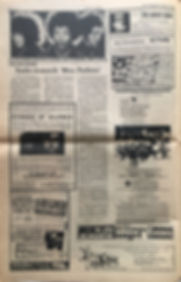 los angeles free press 9/2/68 jimi hendrix newspaper/ADconcert