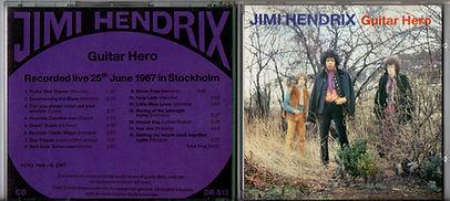jimi hendrix collector bootlegs cd/guitar hero document record 1988