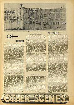 jimi hendrix newspaper/other scenes april 1967