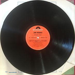 jimi hendrix collector vinyl lp / voodoo chile  1982