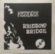 jimi hendrix bootlegs vinyls 1970 /  cbm  ( insert ) :  hendrix rainbow bridge
