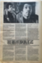 jimi hendrix newspaper 1969/georgia straight june 11-17 1969