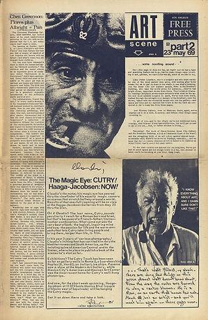 jimi hendrix newspaper 1969/los angeles free press may 23 1969
