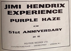 COLLECTOR AD PURPLE HAZE