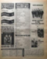 jimi hendrix newspaper 1968/ top 30 new musical express 16/11/68