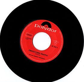 jimi hendrix collector singles vinyls 45t/crosstown traffic polydor germany 1968