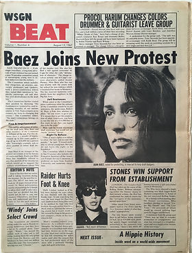 newspapers collector/Beat august 12 1967