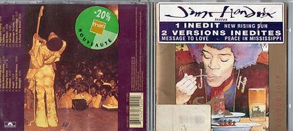 jimi hendrix cd collector/ voodoo soup  polydor eu