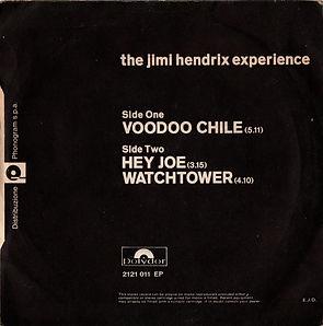 jimi hendrix collector EP/maxi singles/vinyls/voodoo chile/hey joe/watchtower/1970 italy