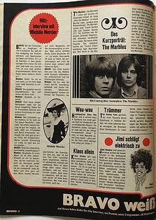 jimi hendrix magazine 1968/bravo 25/11/68