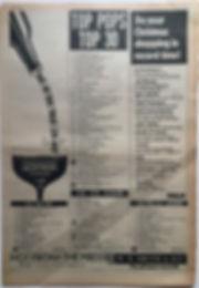 jimi hendrix newspaper 1968/top pops december 21-january 3 1969