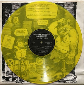 jimi hendrix bootlegs albums vinyls/live in paris