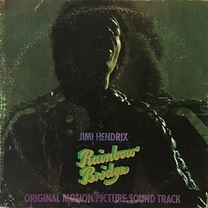 jimi hedrix vinyl album lp/rainbow bridge 1971 philippines
