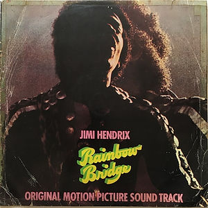jimi hendrix vinyl album LPs/rainbow bridge turkey 1972