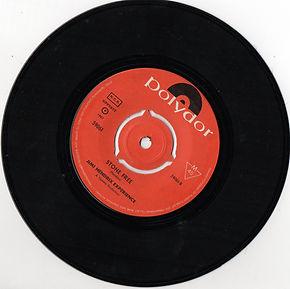 jimi hendrix collector vinyls singles 45t/stone free sueden 1967