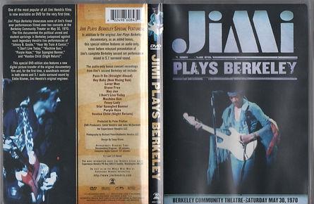 jimi hendrix dvd/video collector/  jimi plays berkeley