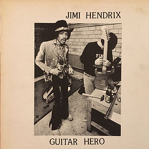 jimi hendrix collector bootlegs lp /album vinyls/guitar hero 2nd pressing 1980 k&s records011