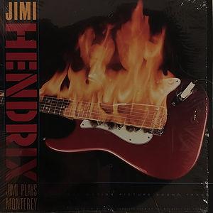 jimi hendrix vinyls collector/ jimi plays monterey usa