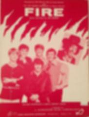 jimi hendrix memorabilia 1968/sheet music  fire