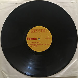 jimi hendrix album vinyl bootlegs 1969/l.a forum 1969