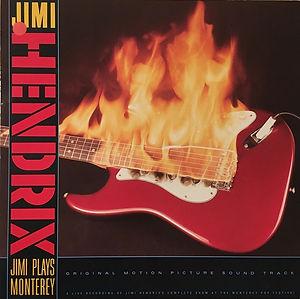 jimi hendrix vinyls collector/ jimi plays monterey   / germany