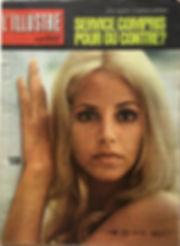 jimi hendrix magazine 1969/l'illustré april 1969 swiss