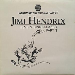 jimi hendrix vinyl album /  live & unrealeased part3