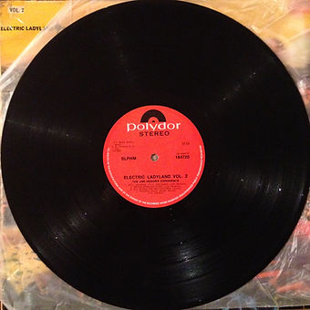 jimi hendrix vinyls album/vol2 side 2 / electric ladyland south africa