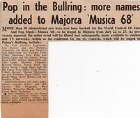 jimi hendrix newspaper 1968/ new musical express march 2 1968