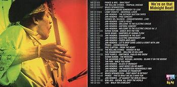 jimi hendrix bootleg cd 1969/midnight beat cd collection