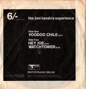 jimi hendrix collector EP/vinyls/EP voodoo chile/hey joe/watchtower england 1970 (fisrt EP after jimi's death)