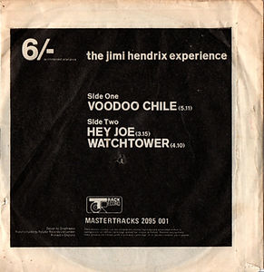 jimi hendrix collector EP/vinyls/EP voodoo chile/hey joe/watchtower england 1970 (fisrt EP after jimi's death)