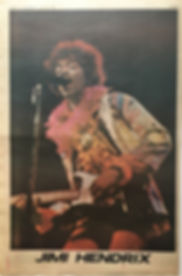jimi hendrix newspaper/go set  july 31 1968/color special .jimi hendrix