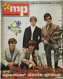 jimi hendrix collector magazine/mp november 1967