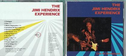 jimi hendrix  cd collector /  live at winterland 1968 usa