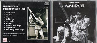 jimi hendrix bootlegs cd/supert concert /fire power