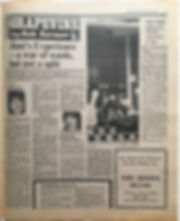 jimi hendrix newspaper 1968/disc music echo decmber 21 1968