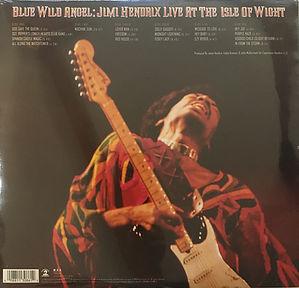 jimi hendrix vinyl album lps/blue wild angel 3lp