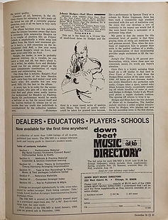 jimi hendrix magazine 1968/down beat 1968 december