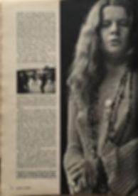 jimi hendrix magazine/esquire january 1968 /anatomy of a festival part2