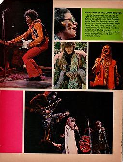 jimi hndrix collector magazine/teenset october 1967 monterey pop festival 1967