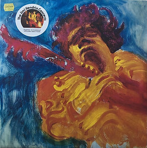 jimi hendrix vinyls album / the jimi hendrix concerts / castle communications  england  1990