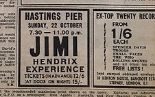 jimi hendrix collector/jimi hendrix experience hastings pier sunday 22 october 1967